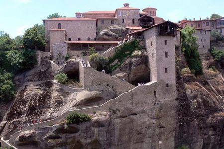 متیئورا,جاذبه های دیدنی یونان