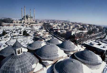 معرفی شهر تاریخی ادیرنه در ترکیه,شهر تاریخی ادیرنه,شهر تاریخی ادیرنه در ترکیه,جاذبه های گردشگری ترکیه