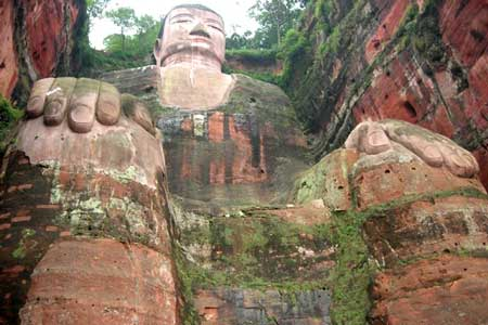 تندیس بودا در لیشان,تندیس بودا