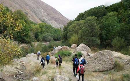 روستاي برگ جهان,روستاهای اطراف تهران