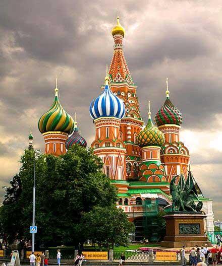آشنایی با کاخ کرملین روسیه + تصاویر