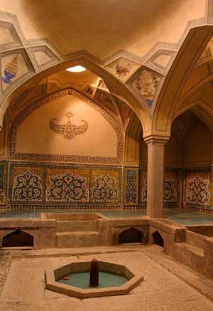 علیقلیآقا,حمام  در بیدآباد,گردشگری
