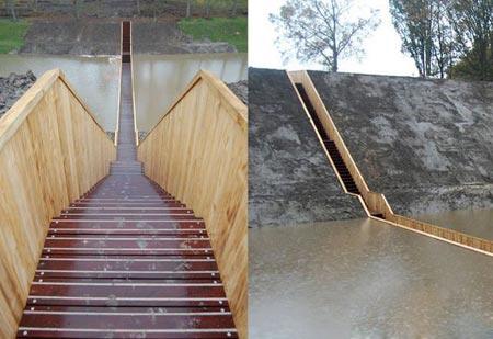 گردشگري: پل موسی، جایی که آب برای عبور شما راه باز میکند