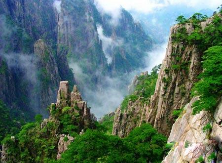 تصاویر کوههای زیبا و الهام بخش هونگ شان