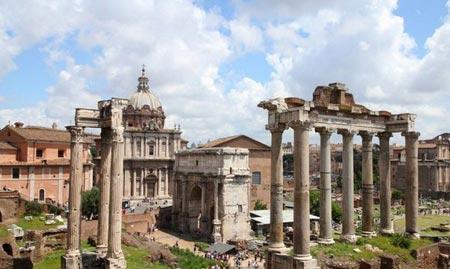 جاذبه های توریستی رم,جاهای دیدنی رم,مکانهای تفریحی رم