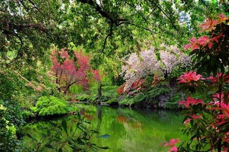 زیباترین باغ ها در سراسر دنیا,زیباترین باغ ها,قشنگترین باغ ها,جالبترین باغ های دنیا