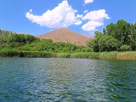اوان,دریاچه اوان,دریاچه اوان قزوین