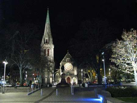 کرایستچرچ نیوزلند,گردشگری,تور گردشگری
