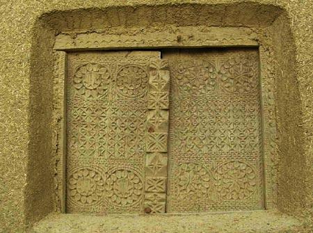 بلندترین بنای خشتی ایران
