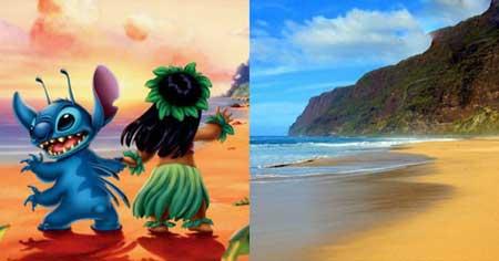 ده مکان واقعی در انیمیشن های دیزنی