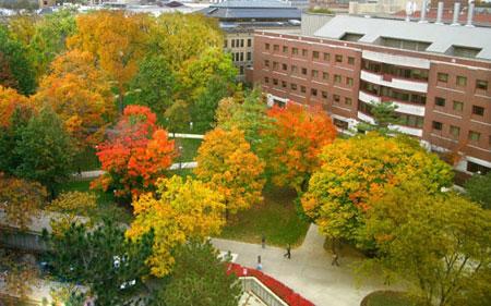 زیباترین پاییز دنیا,شهر