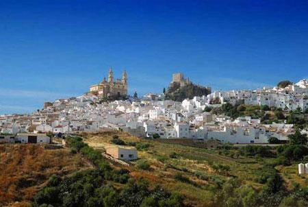 دهکده زیبای سفید اولورا، اسپانیا + تصاویر