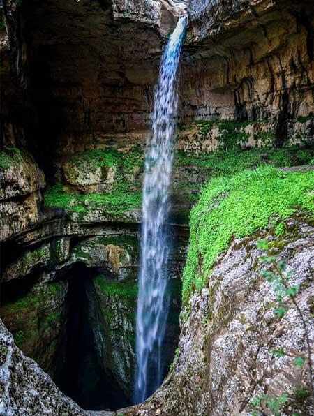 غاری تماشایی در لبنان, پدیدهی طبیعی جذاب