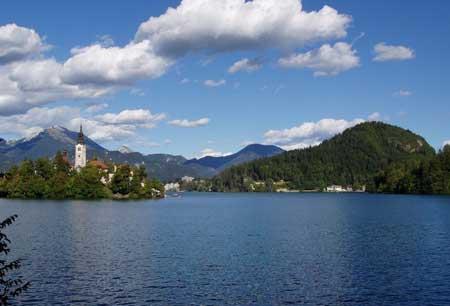 دریاچه بلد، اسلوونی,رومانتیک ترین مناطق دنیا,دریاچه بلد,تصاویر دریاچه بلد