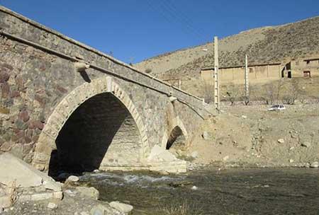 پل دلیچای,پل فردوسی,آثار ملی ایران,آثار تاریخی ایران