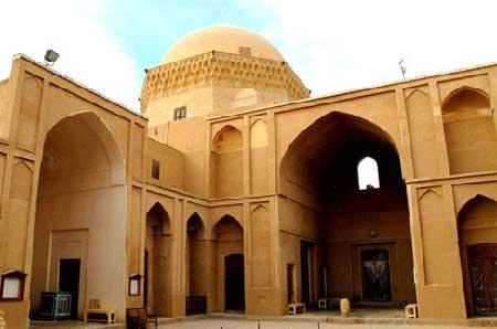مدرسه ضیائیه, زندان اسکندریه, معماری مدرسه ضیائیه, مدرسه ضیائیه یزد