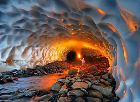 تصاویر غار یخی چما,غارهای ایران