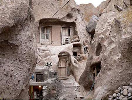 کندوان,روستای تاریخی کندوان,معماری روستای کندوان