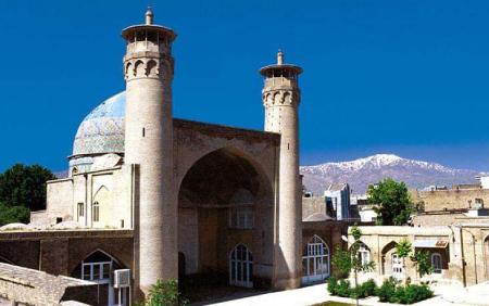 مکانهای تاریخی لرستان,آثار تاریخی لرستان,مسجد جامع بروجرد