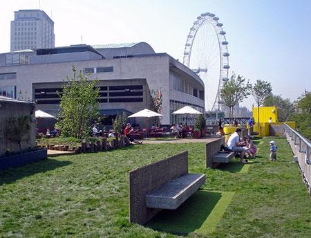 موزه و باغ هورنیمان,مکانهای تفریحی لندن,کافه روف گاردن