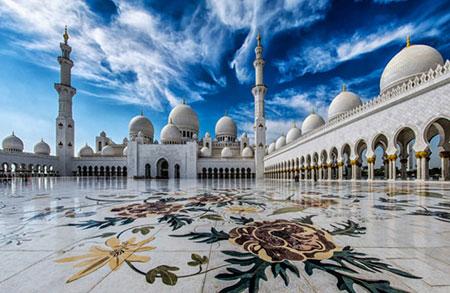 خوش نقشونگارترین مساجد جهان
