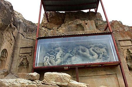 داش کَسن,معبد داش کَسن در سلطانیه