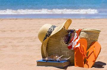 وسایل سفر به ساحل,سفر کردن