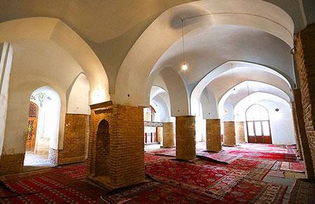 تصاویر مسجد جامع سمنان,معماری مسجد جامع سمنان