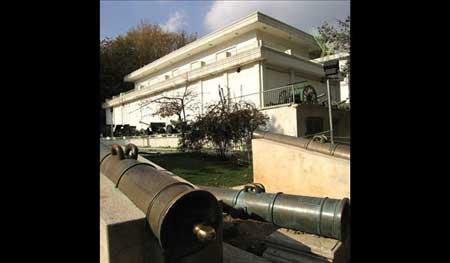 آشنایی با موزه نظامی کاخ سعدآباد