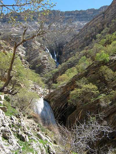 عکس های آبشار طوف کما,زیباترین آبشار های ایران