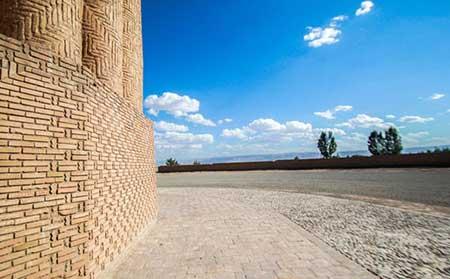 تاریخچه برج رادکان,برج رادکان در خراسان رضوی