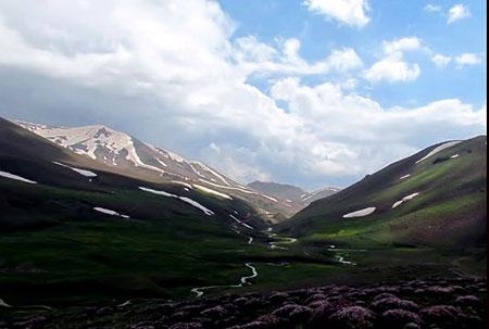 پوشش گیاهی کوه سهند,کوه سهند در آذربایجان شرقی
