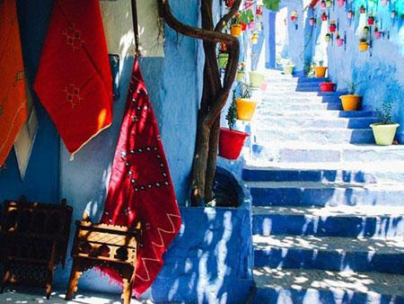 شهر شفشاون,شهر شفشاون در مراکش