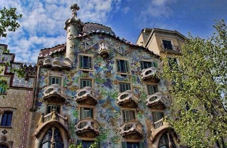 خانه مشهور در بارسلونا