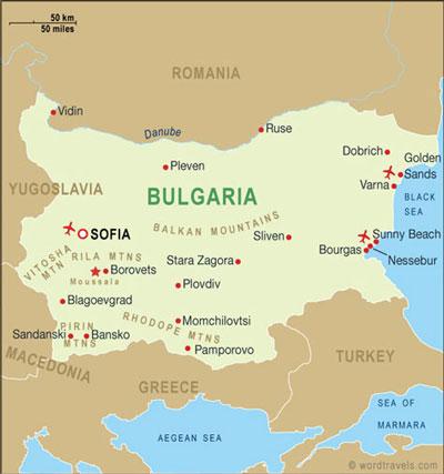 ,مکانهای تفریحی بلغارستان,دیدنی های بلغارستان