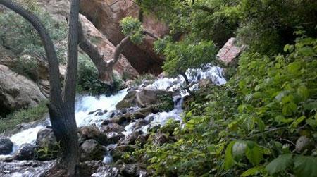 آب ملخ،آبشار،آب ملخ