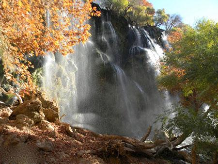 عکس های آبشار زرد لیمه