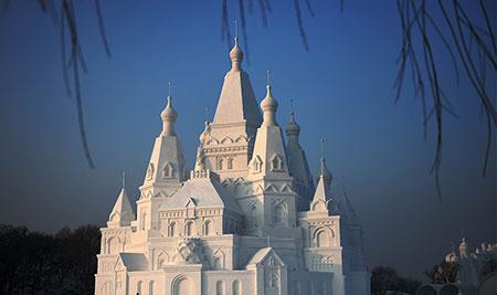 بزرگترین قصر یخی دنیا,بزرگترین قصر یخی