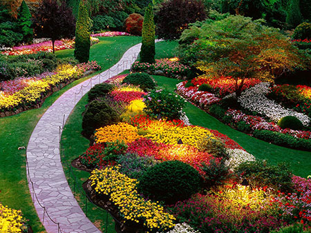 باغ بوچارت,باغ بوچارت کجاست