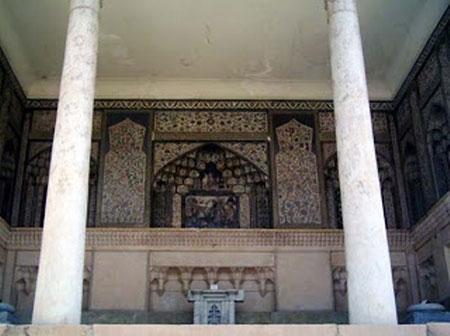 موزه سنگ شیراز,بقعهی هفتتنان شیراز