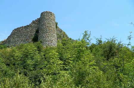 پلان قلعه مارکوه