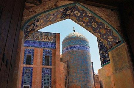 بقعه شیخ صفی,بقعه شیخ صفی در اردبیل