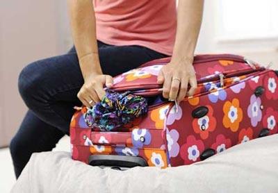 چمدان بستن,چمدان بستن برای مسافرت