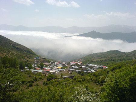 روستاهای ییلاقی مازندران با آبگرم,سفر به مازندران