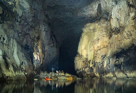 غارهای زیرزمینی چهان, غارهای زیرزمینی ایران