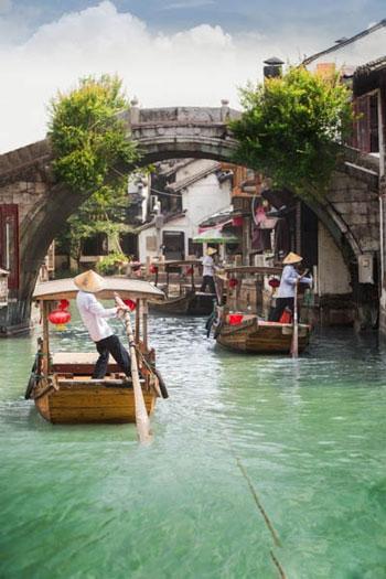 شهرهای زیبایی که بر روی آب شناورند