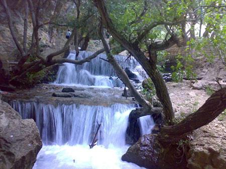 پارک جنگلی یاسوج,آبشار یاسوج