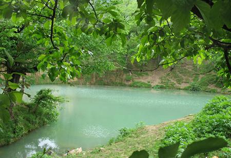 عکس از دریاچه گل رامیان