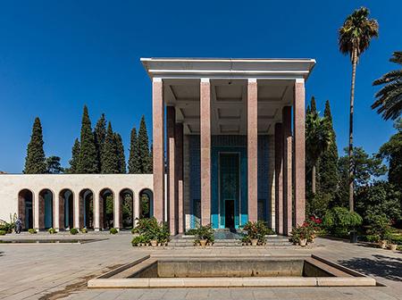 آرامگاه سعدی شیرازی,آرامگاه سعدی در کجا قرار دارد