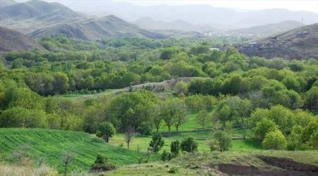تصاویر دره قاهان قم,قم,جاهای دیدنی قم